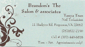 Brandon's, the Salon