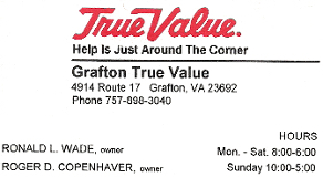 Grafton True Value