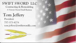 Swift Sword LLC Contracting and Remodeling